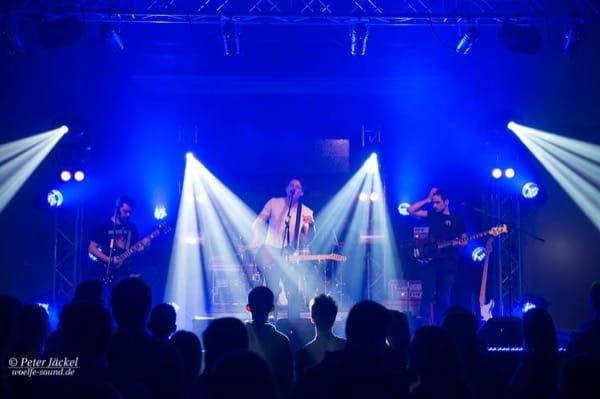 Lichtdesign beim Konzert im EJW Gemeindehaus
