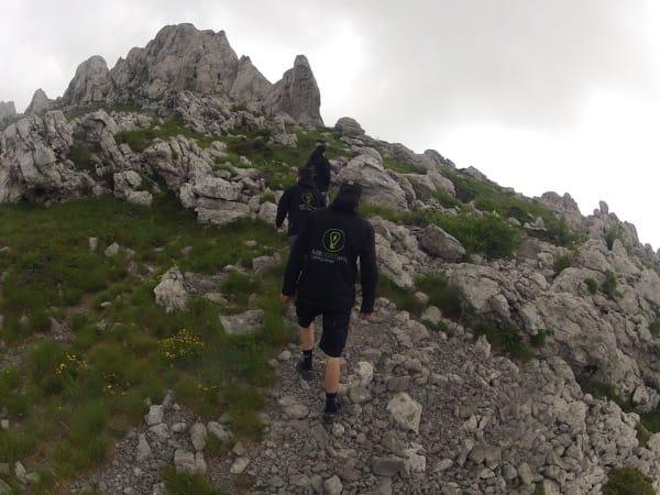 MBLightarts Team auf dem Berg
